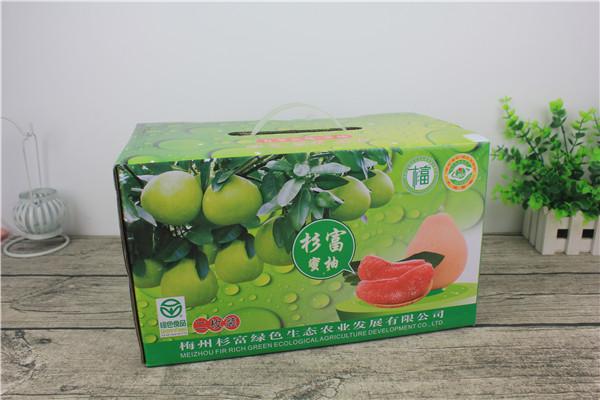 三红蜜柚包装(二枚装)